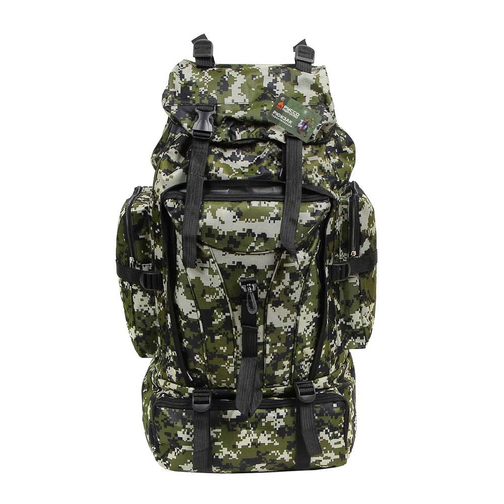 Рюкзак туристический ЧИНГИСХАН отделение для палатки, 60 литров,70х35х18 см, полиэстер - 8