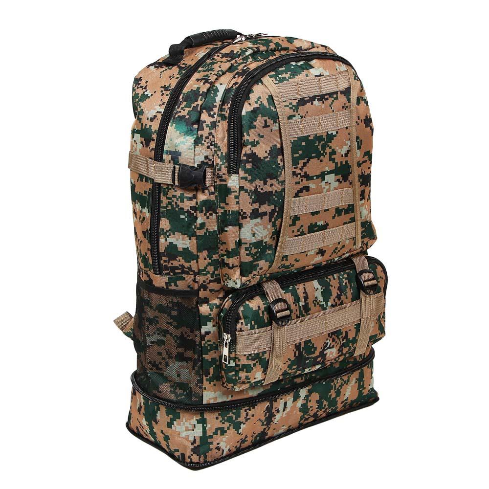 Рюкзак туристический ЧИНГИСХАН 55 литров, 2 цвета, 60х38х18 см, полиэстер - 2