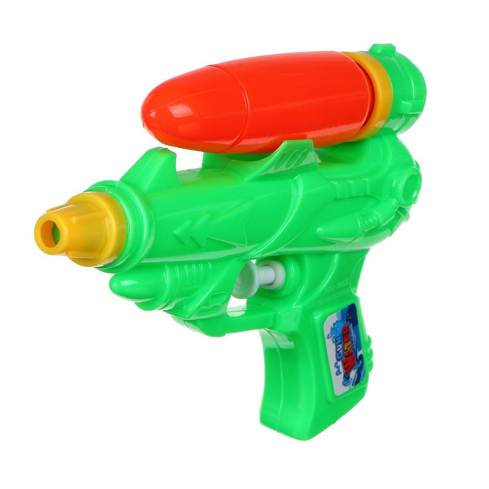 ИГРОЛЕНД Пистолет водный, PP, 15х10см, 2-4 цвета - 3