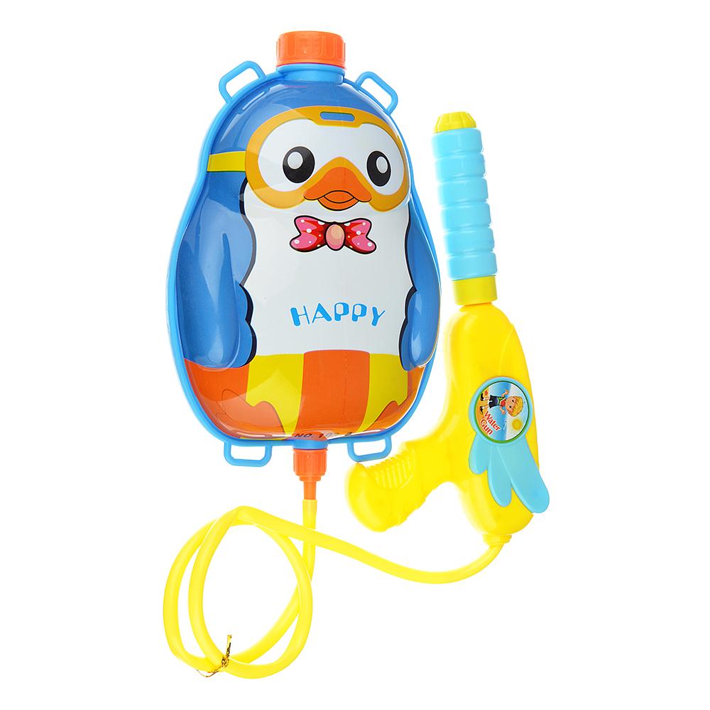 ИГРОЛЕНД Ружье водное с баллоном-рюкзачком 1,5 л., пластик,30х36х6см, 2 дизайна - 2