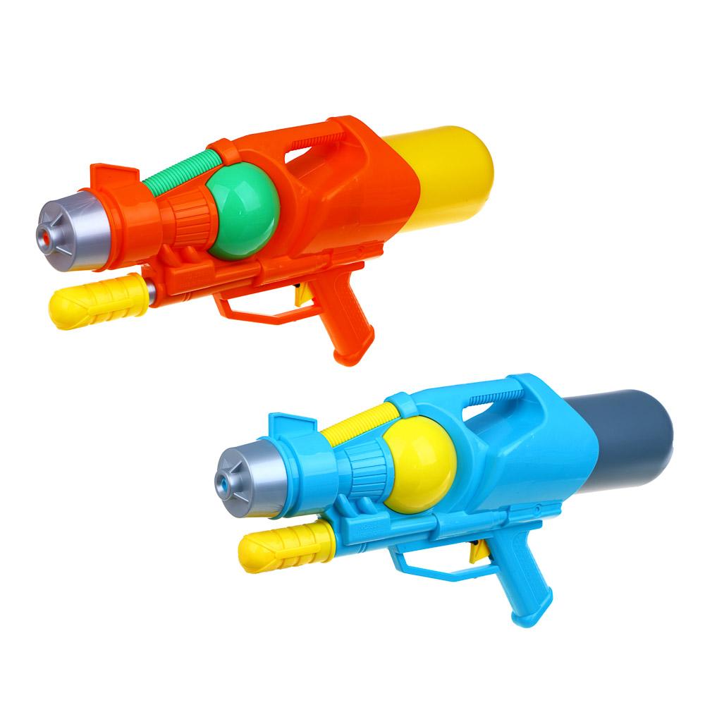 ИГРОЛЕНД Пистолет водный, пластик, 48х22см, 2 цвета - 2