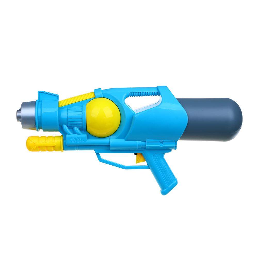 ИГРОЛЕНД Пистолет водный, пластик, 48х22см, 2 цвета - 4
