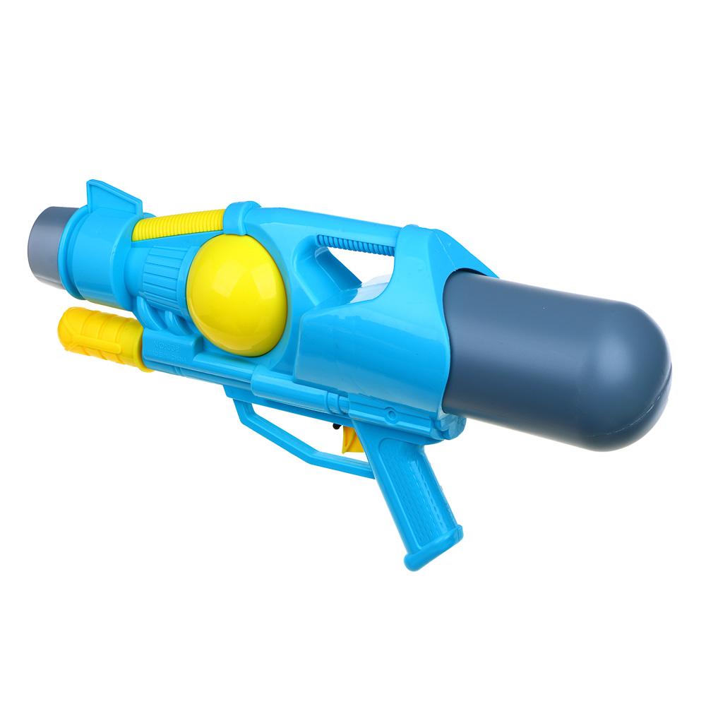 ИГРОЛЕНД Пистолет водный, пластик, 48х22см, 2 цвета - 5