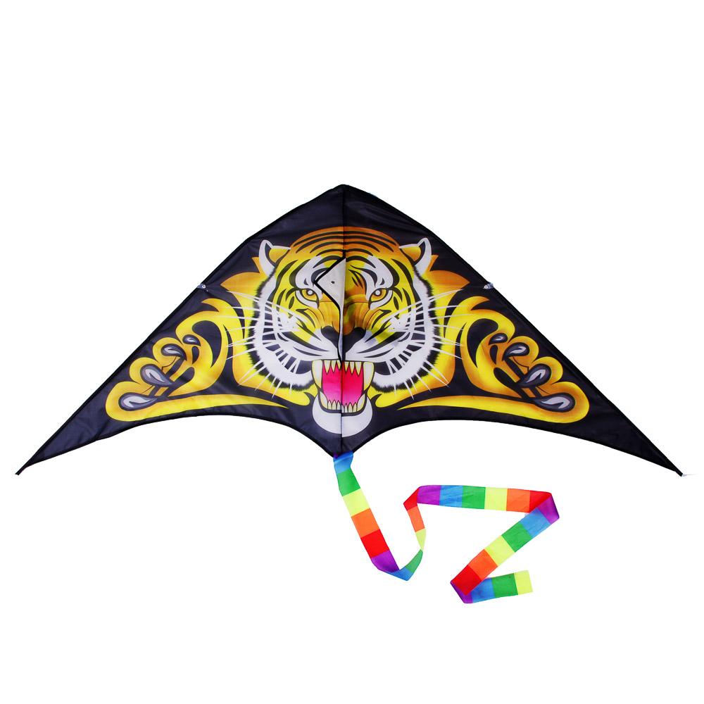 Воздушный змей 160см, текстиль, 7-10 дизайнов - 2
