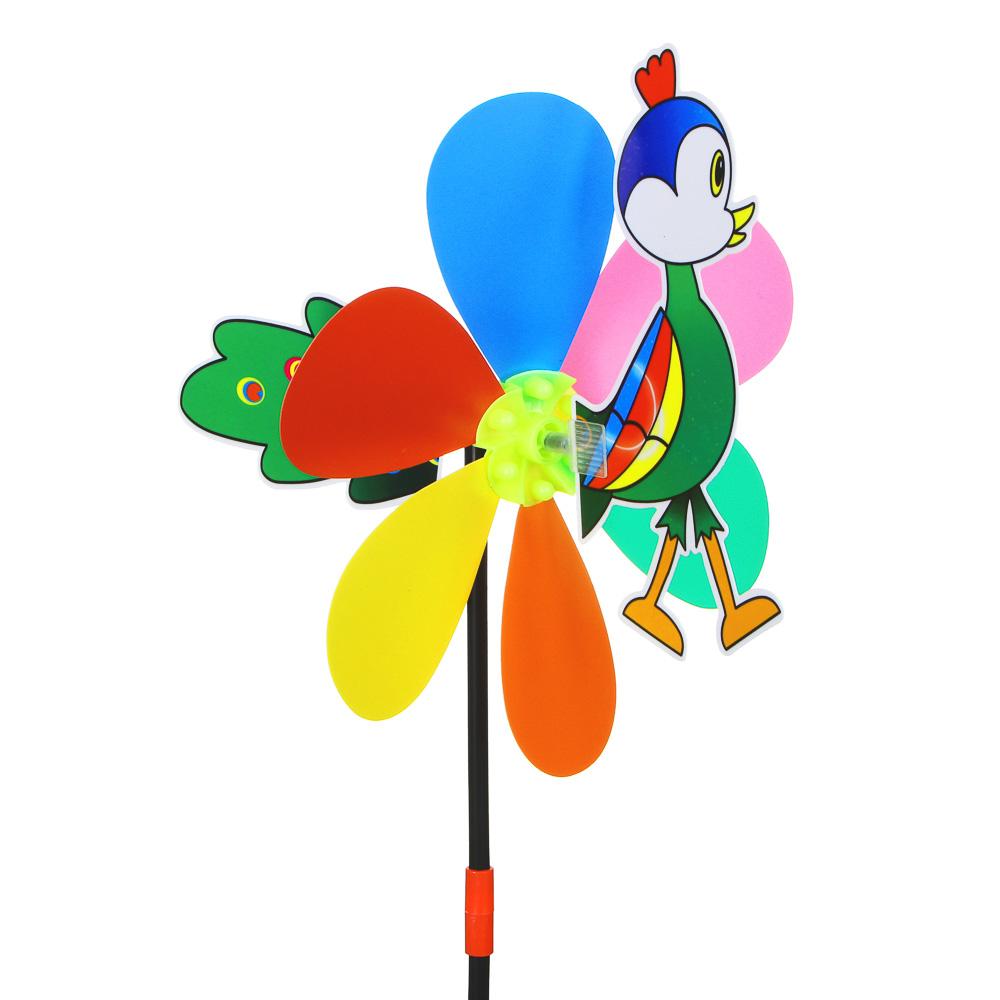 """ИГРОЛЕНД Ветрячок детский """"Животные"""", 49х24см, PVC, 2 дизайна - 2"""