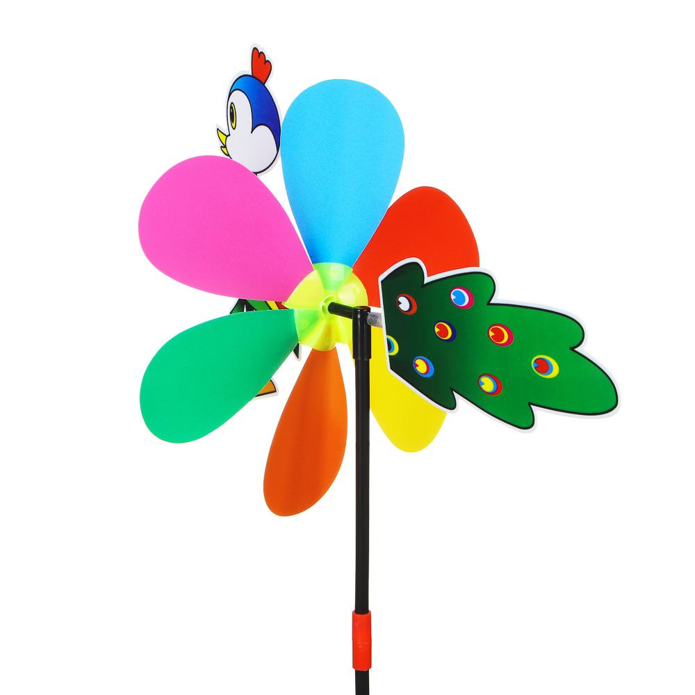 """ИГРОЛЕНД Ветрячок детский """"Животные"""", 49х24см, PVC, 2 дизайна - 3"""
