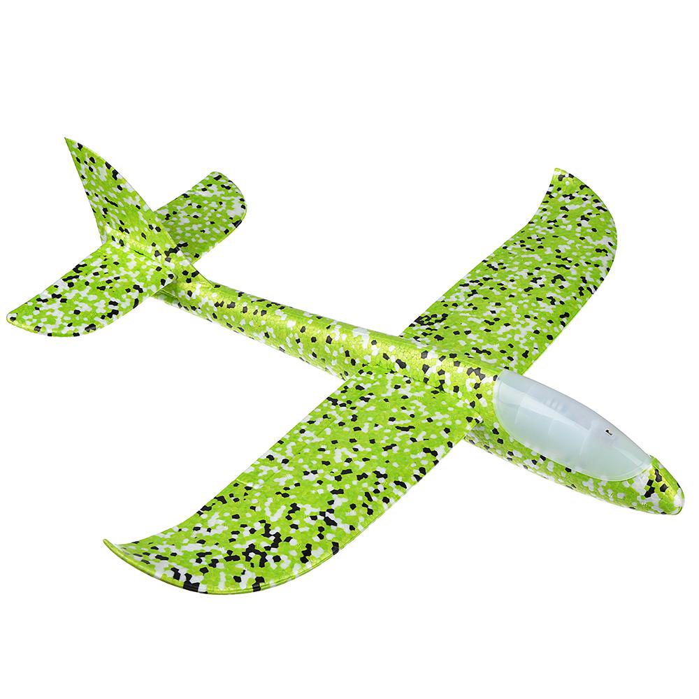 Самолет-планер, свет, полимер, 48х10х48см, 5 цветов - 2