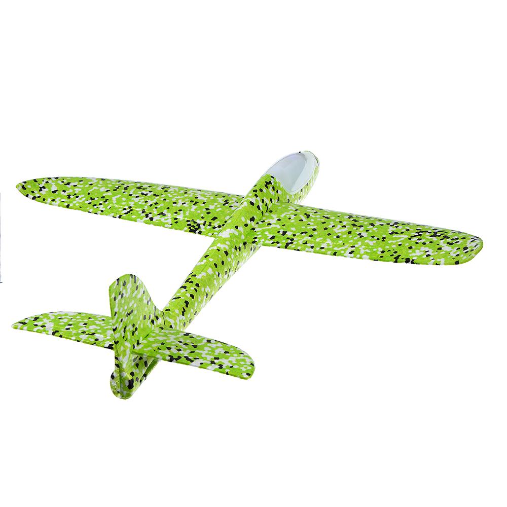 Самолет-планер, свет, полимер, 48х10х48см, 5 цветов - 3