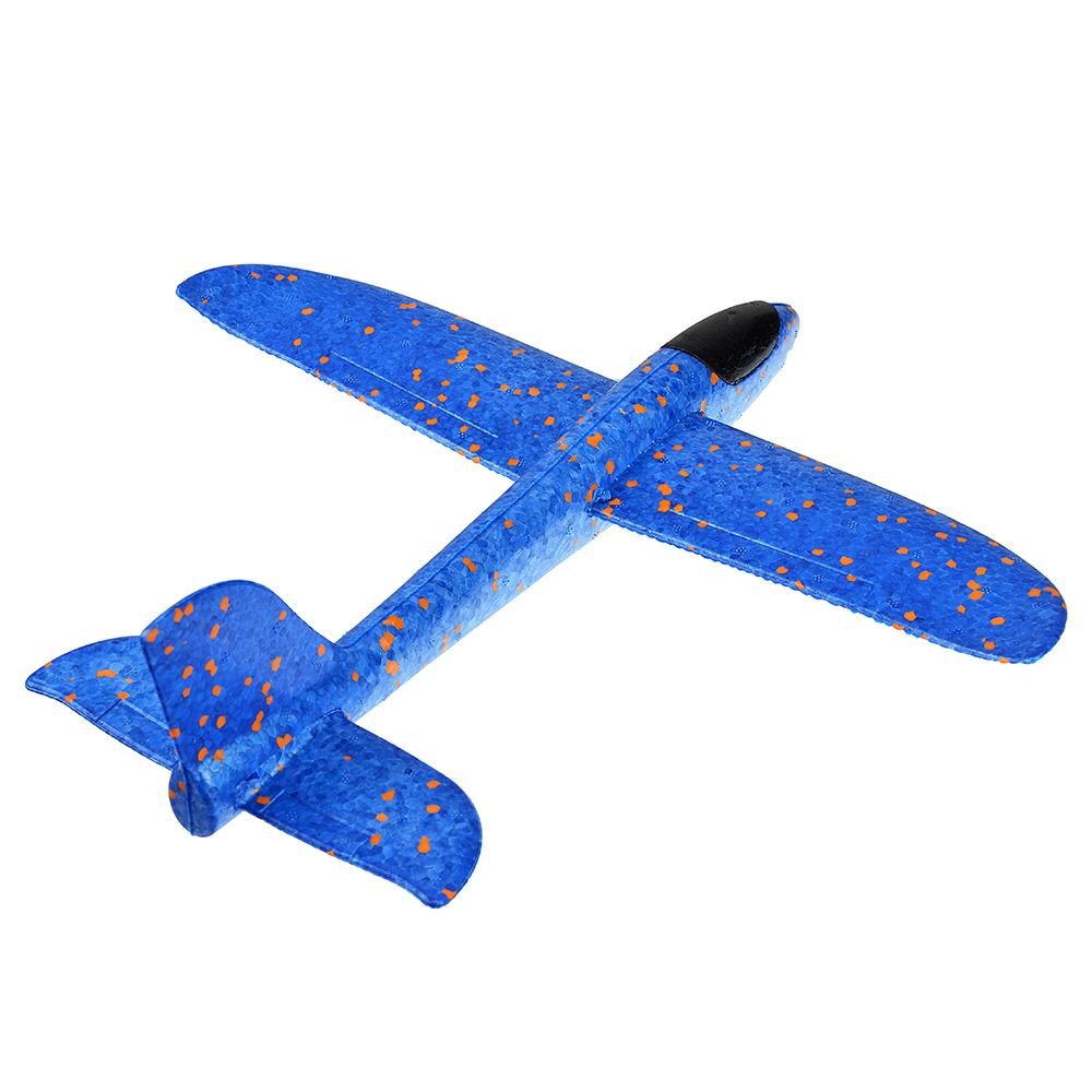 Самолет-планер, полимер, 37х9х35см, 3 цвета - 3