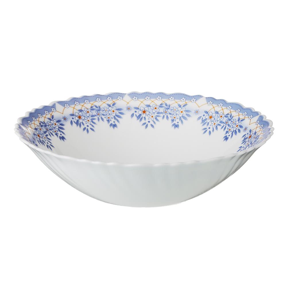 """Набор столовой посуды 19 предметов, опаловое стекло, MILLIMI """"Аполлон 2"""" - 3"""