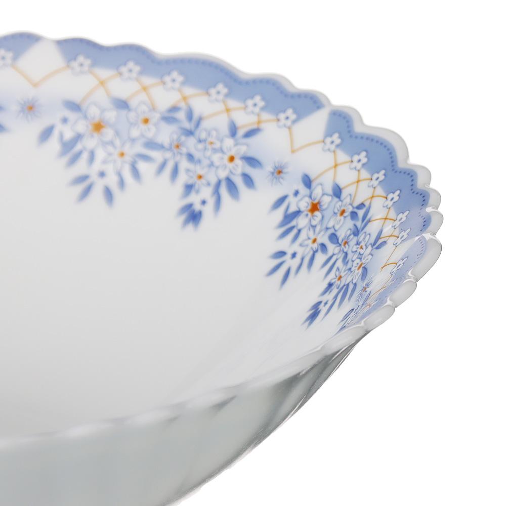 """Набор столовой посуды 19 предметов, опаловое стекло, MILLIMI """"Аполлон 2"""" - 4"""