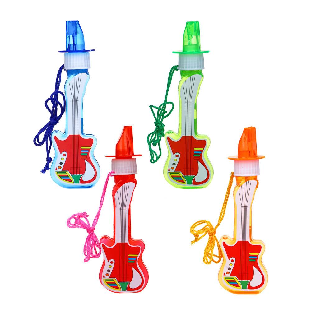 Мыльные пузыри в фигурной бутылке, 100мл,ABS,PVC, мыльный р-р, 13-14х5х3,5см, 4 цвета - 2