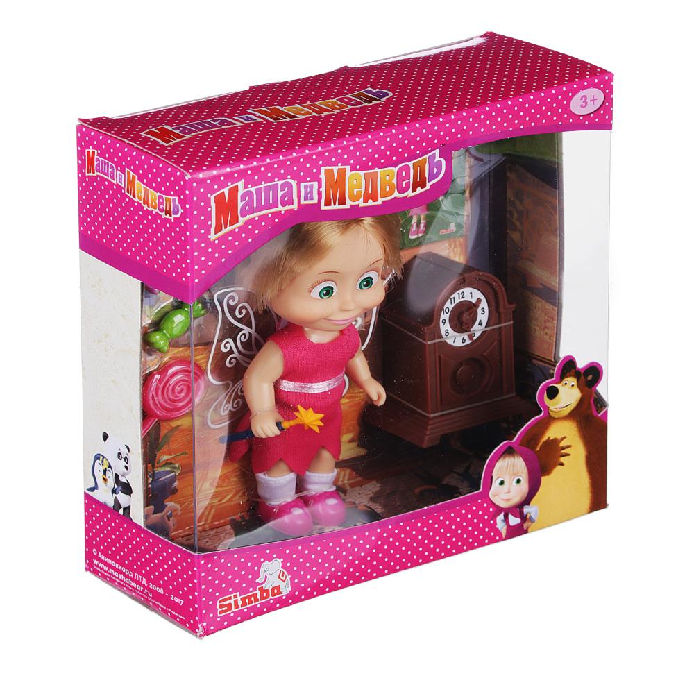МАША И МЕДВЕДЬ Кукла Маша, 12см, пластик, полиэстер - 3