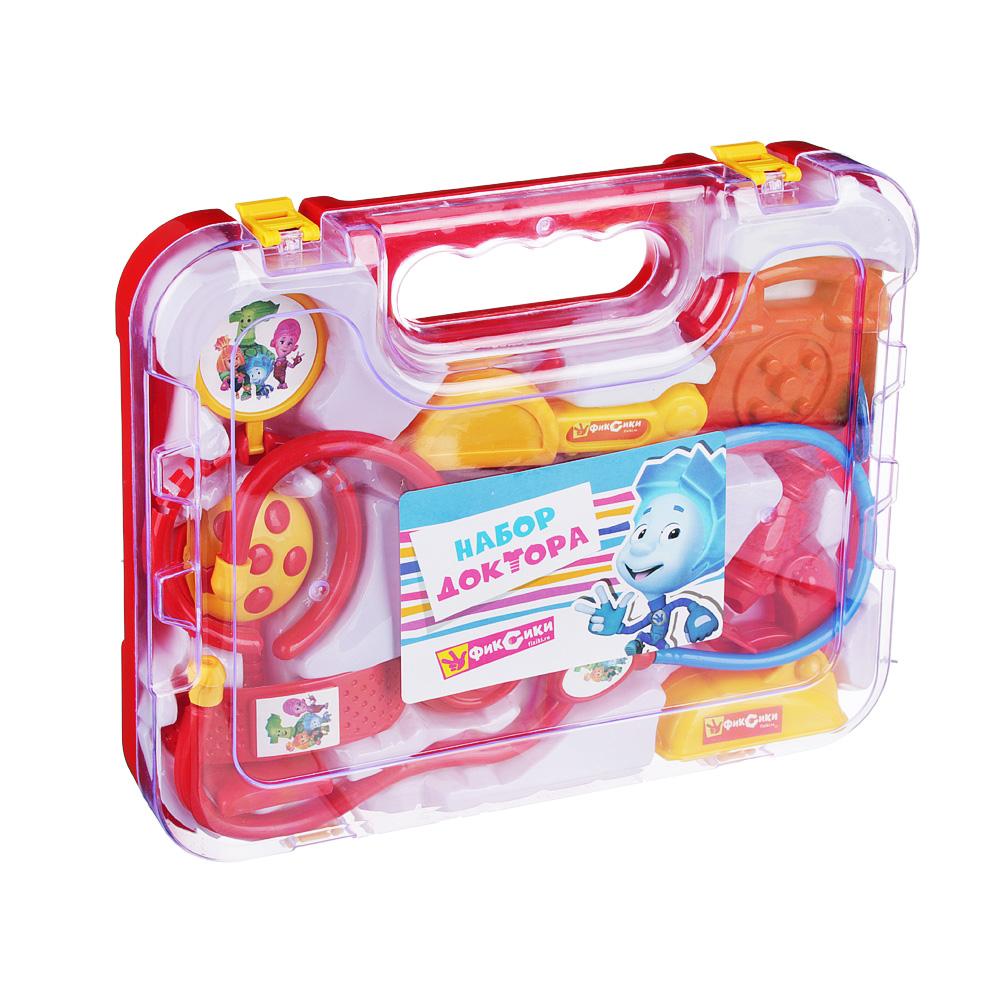 ФИКСИКИ Набор доктора в чемодане, 8 предм, пластик, 27х21х5см - 2
