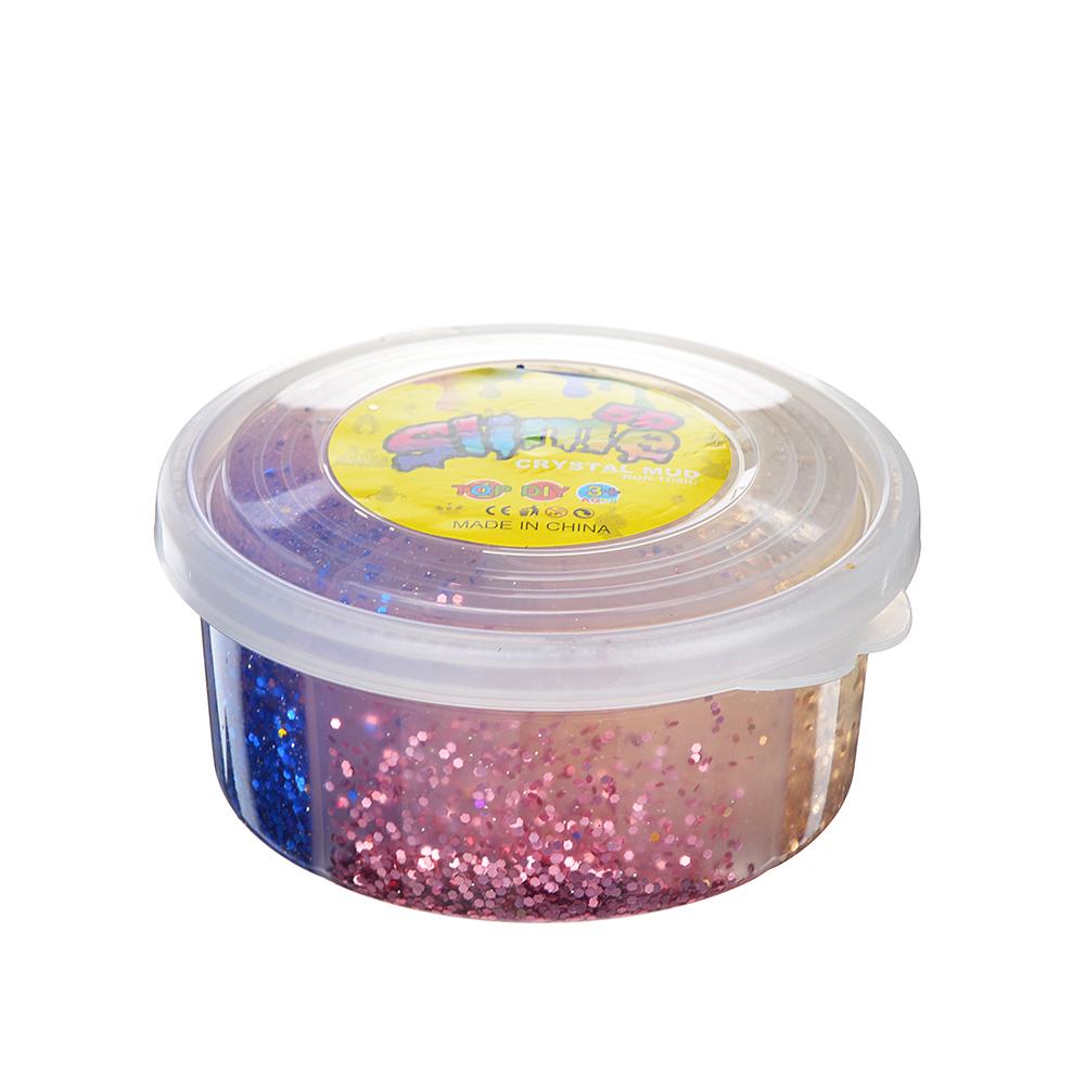 Слайм, в наборе 4 цвета, 8,5х4см, полимер, 2 дизайна, 6-8 цветов - 2