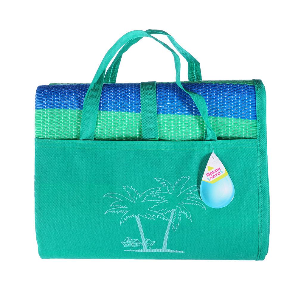 Яркое лето Яркое лето Коврик пляжный, 120х180, с ручками для переноски, полоса, полипропилен, 3 цвет - 4