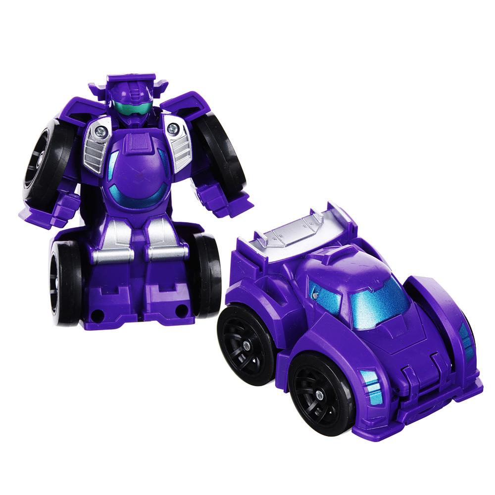 ИГРОЛЕНД Робот трансформирующийся, ABS, 7х7х4см, 6 дизайнов - 3