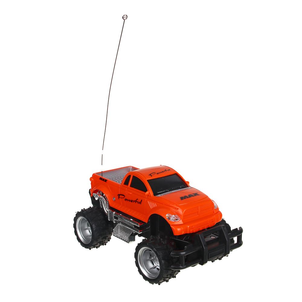 ИГРОЛЕНД Машина на радиоуправлении в виде пикапа, 5АА, ABS, TPR, PP,PE, PS, 23х14х13см - 4