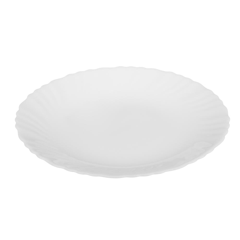 """Набор столовой посуды 19 предметов, опаловое стекло, MILLIMI """"Бьянко"""" - 2"""