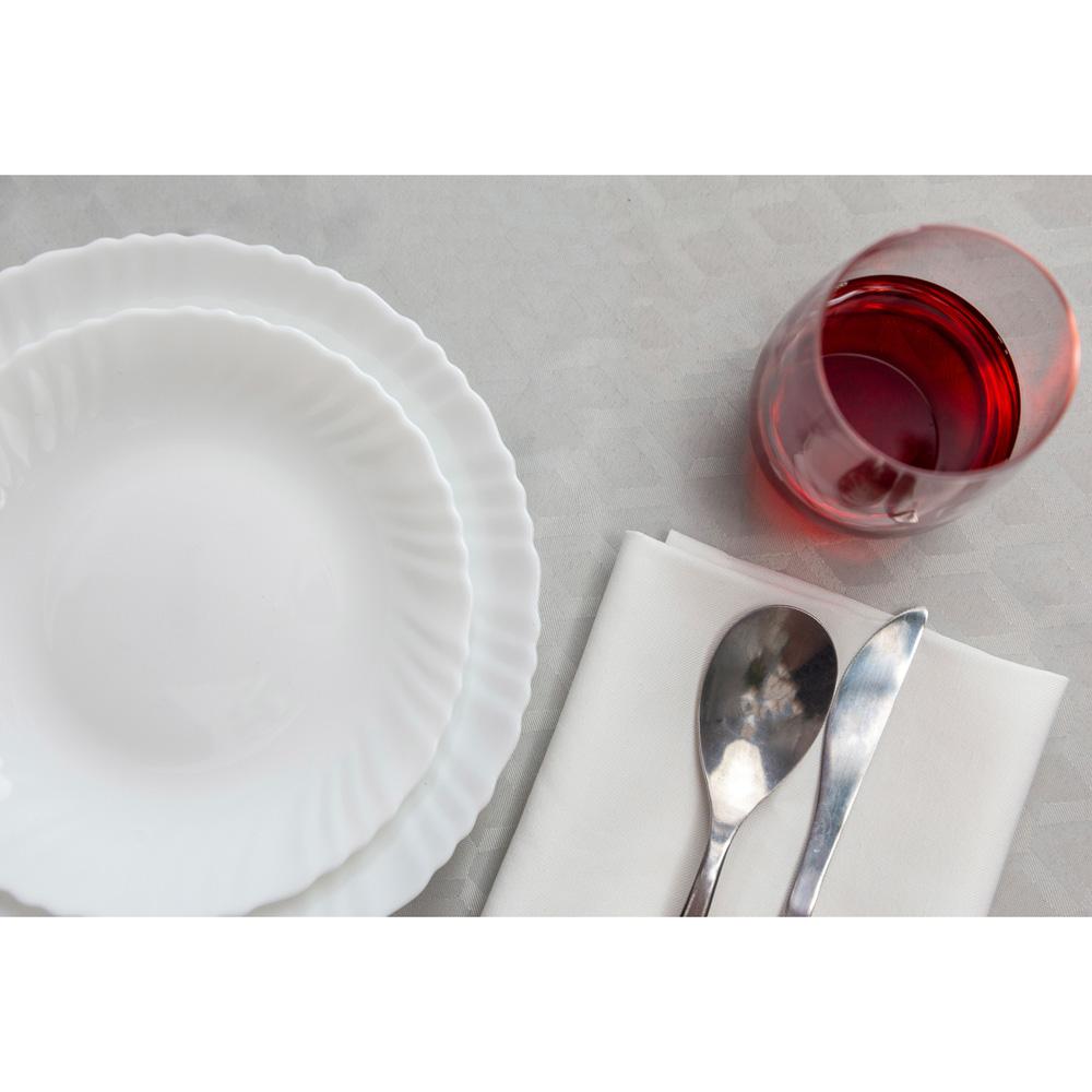 """Набор столовой посуды 19 предметов, опаловое стекло, MILLIMI """"Бьянко"""" - 6"""
