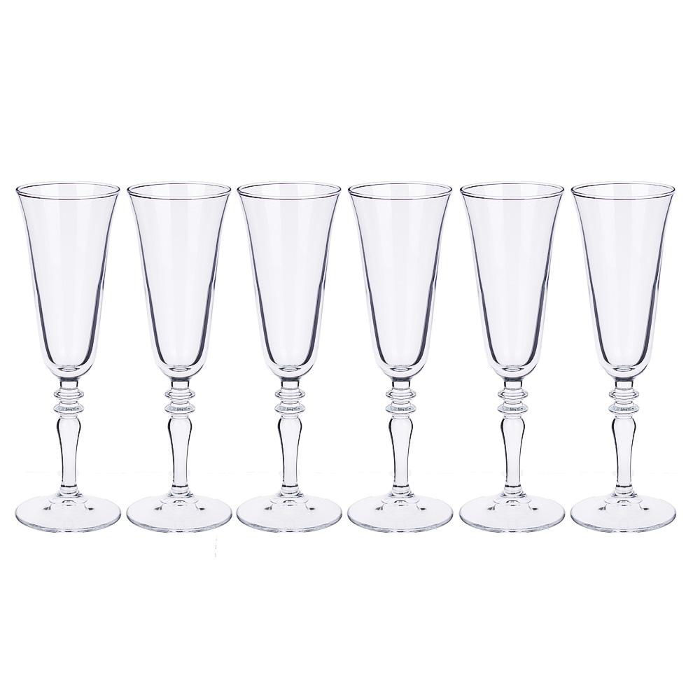 "Набор бокалов для шампанского 6шт 190 мл, PASABAHCE ""Винтаж"" 440283B - 2"