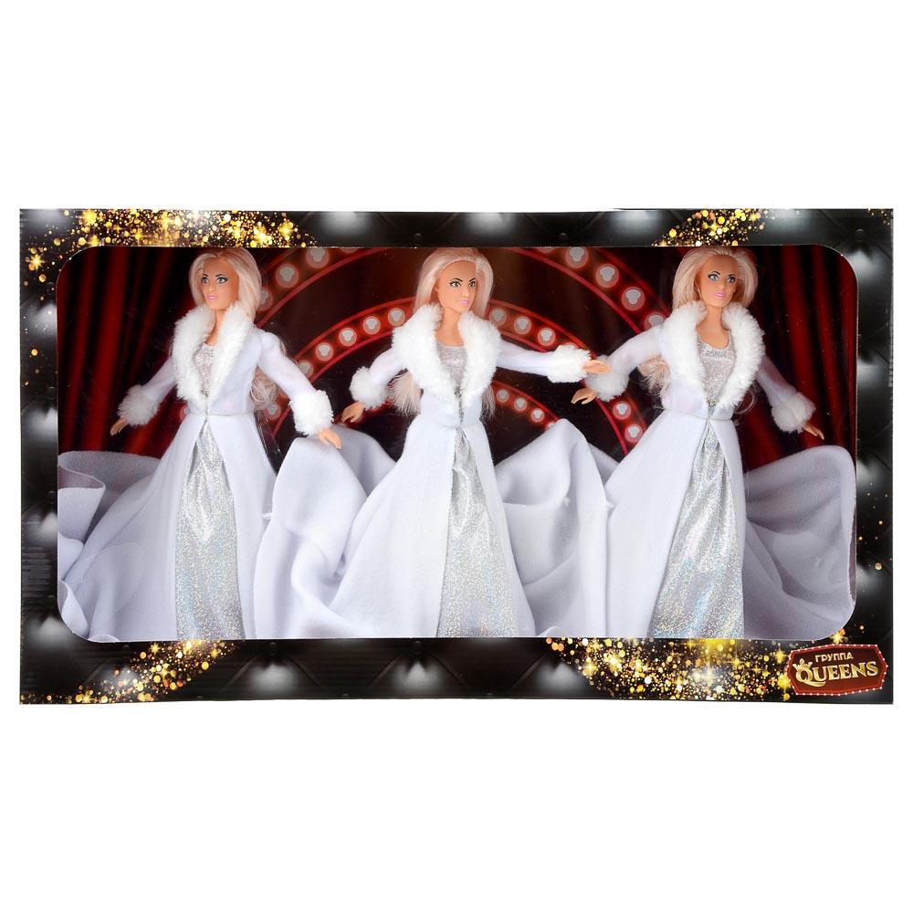 ИГРОЛЕНД Куклы солистки Queens, пластик, полиэстер, 29 см, 60х34х12 см - 2