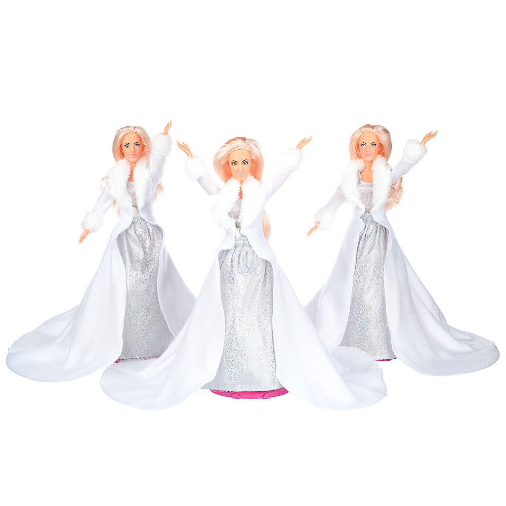 ИГРОЛЕНД Куклы солистки Queens, пластик, полиэстер, 29 см, 60х34х12 см - 3