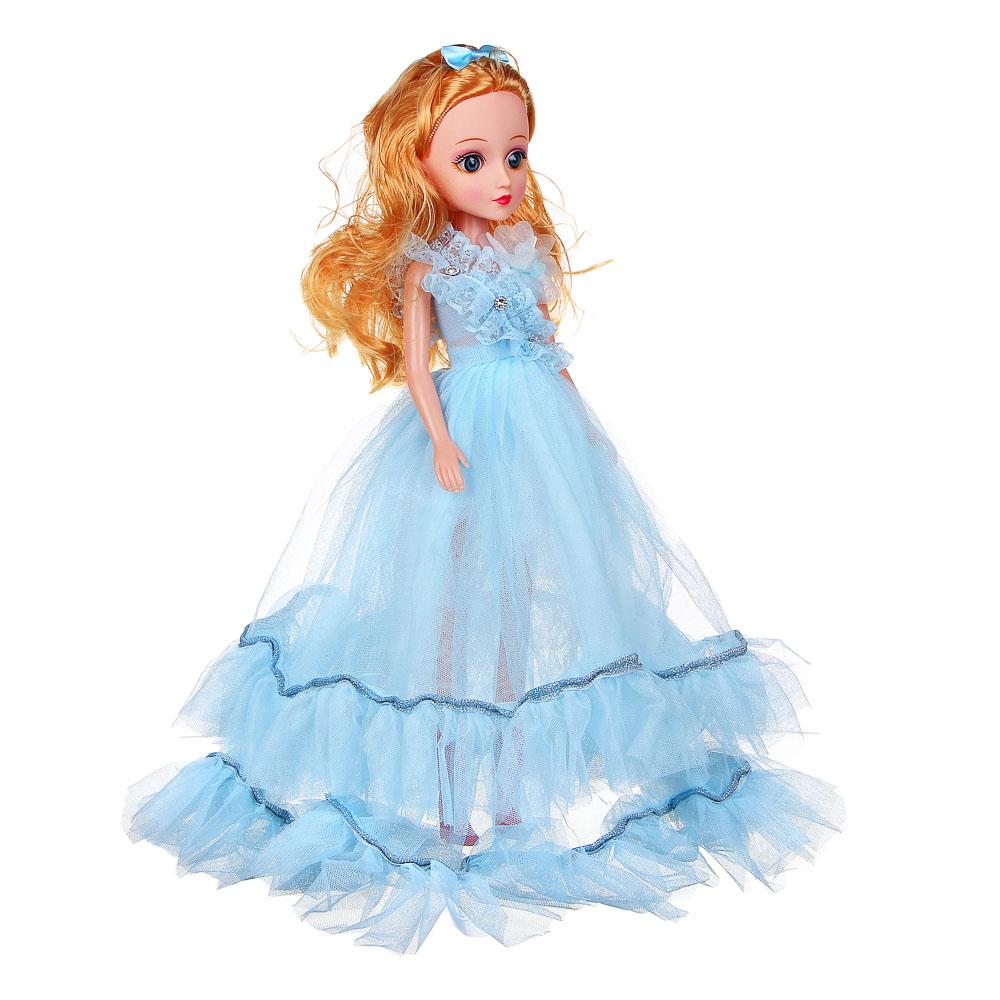 ИГРОЛЕНД Кукла классическая в пышном платье, 35-45см, пластик, полиэстер, 4-8 цветов - 3