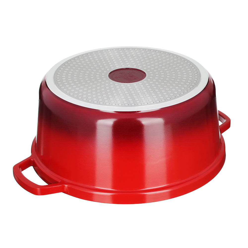 Кастрюля литая с крышкой 6,4 л SATOSHI Ла Шапель, антипригарное покрытие, индукция - 4