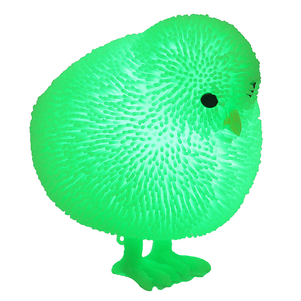 """LASTIKS Игрушка резиновая """"Пушистик"""" в виде животного, свет, 8-11х8-9см, резина, 4-8 дизайнов - 3"""