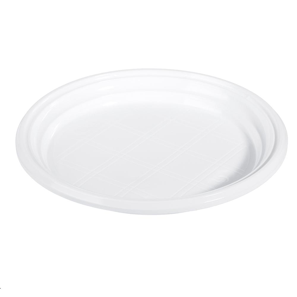 Тарелка одноразовая пластиковая d.205 мм, 10 шт, VETTA - 2