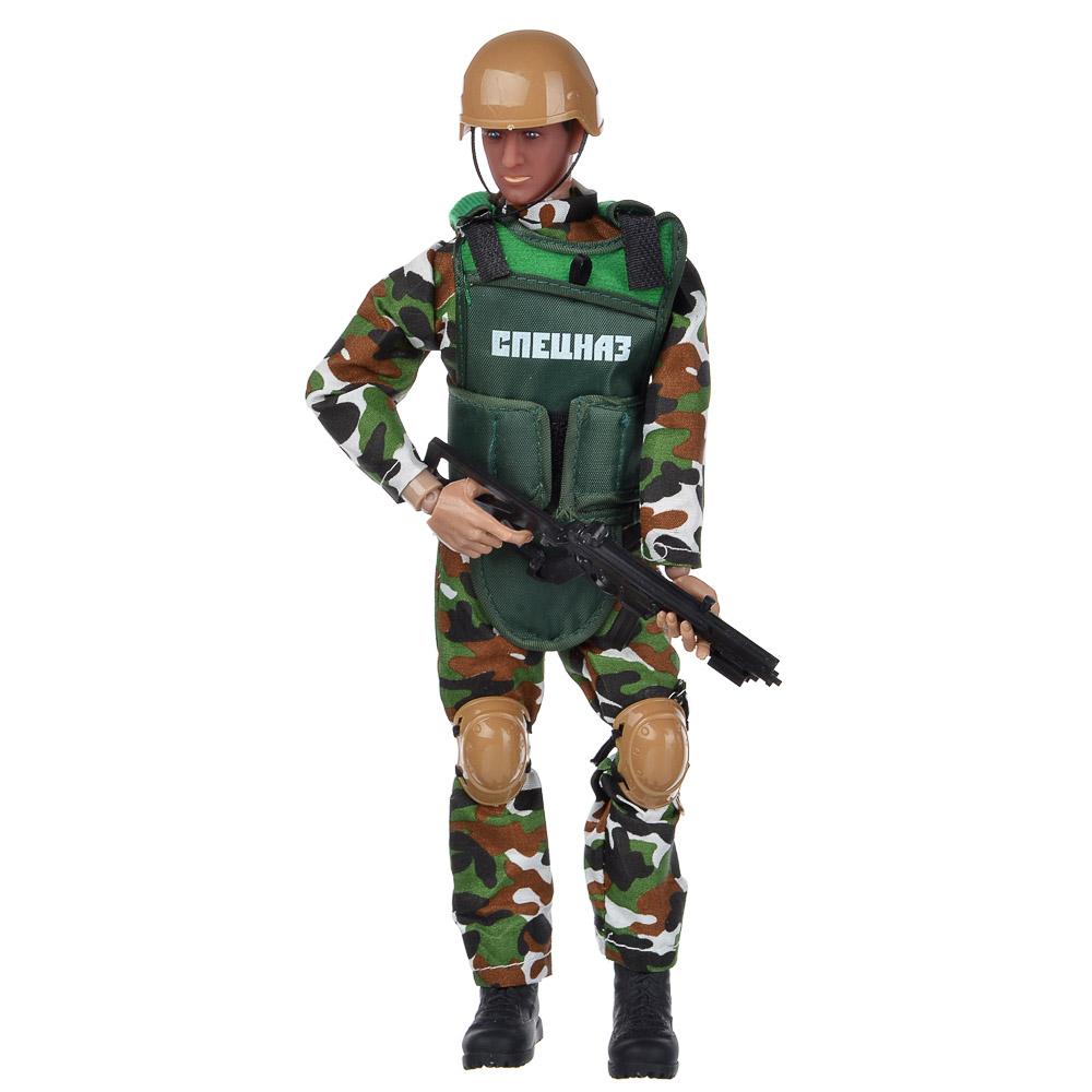 ИГРОЛЕНД Фигурка солдата шарнирная, 30см, с аксессуарами, ABS, 35х21,7х6см, 2 дизайна - 3
