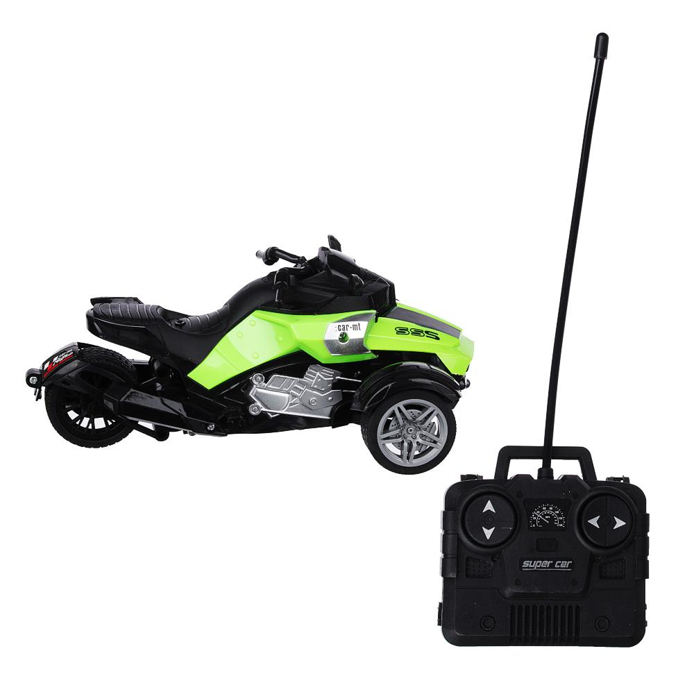 ИГРОЛЕНД Трицикл на радиоуправлении, 5АА, пластик, 20,5х12х8,8см,4 дизайна - 2