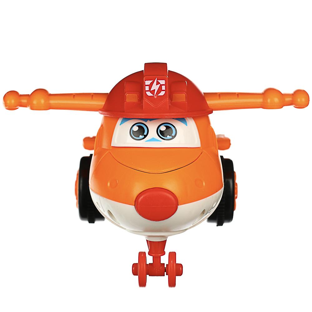 ИГРОЛЕНД Самолет инерционный, трансформация при столкновении, ABS, 11х5х6см, 3 дизайна - 4