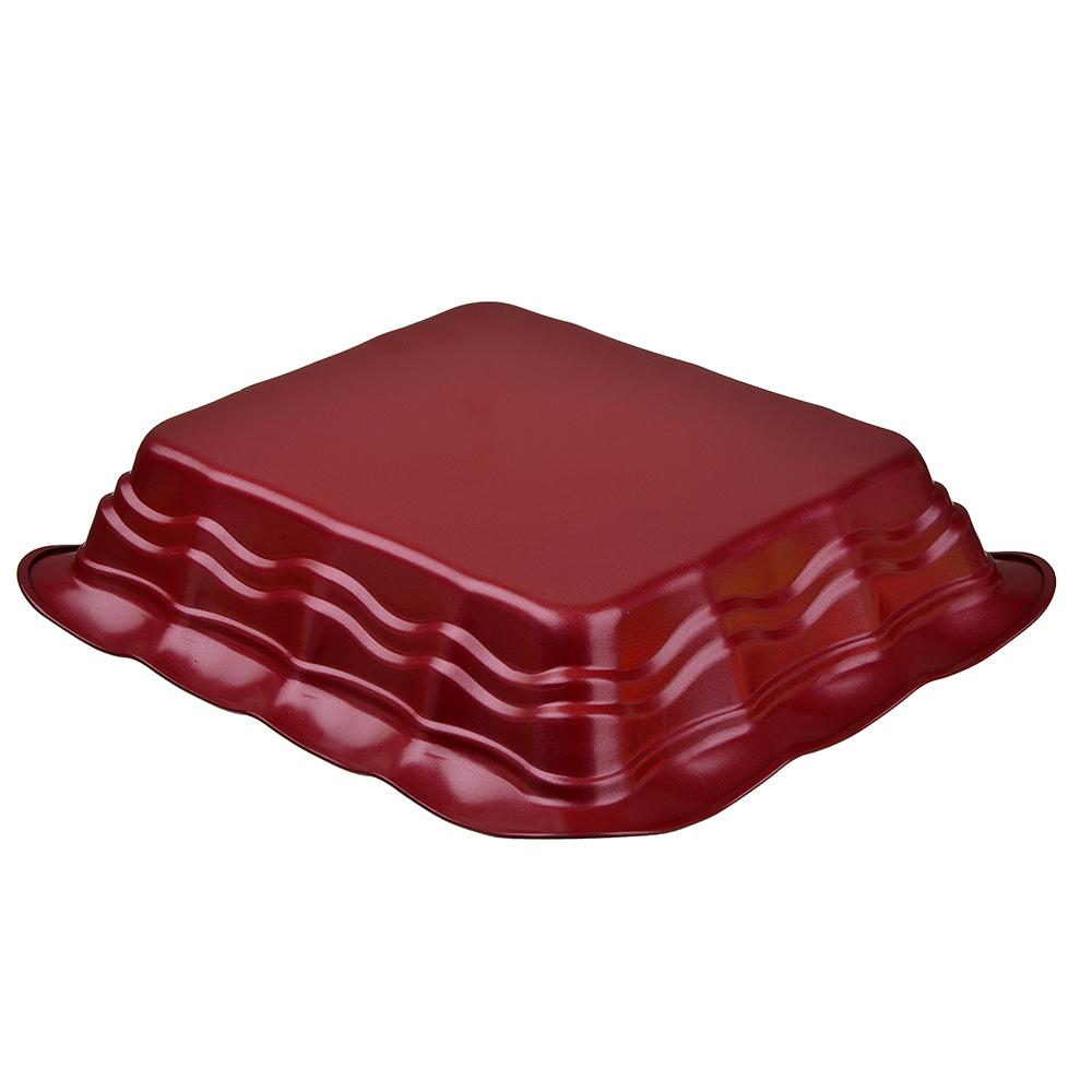 Противень глубокий SATOSHI, 29,5х25,5х6,5 см, угеродистая сталь, антипригарное покрытие - 2