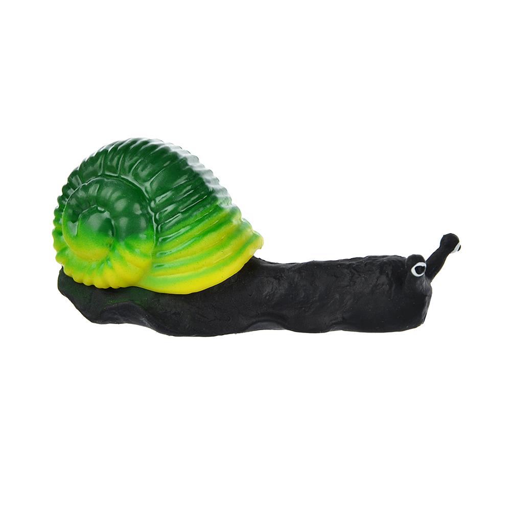 Игрушка в виде улитки с панцирем, пластик, резина, 6-8см, 2-4 цвета - 5