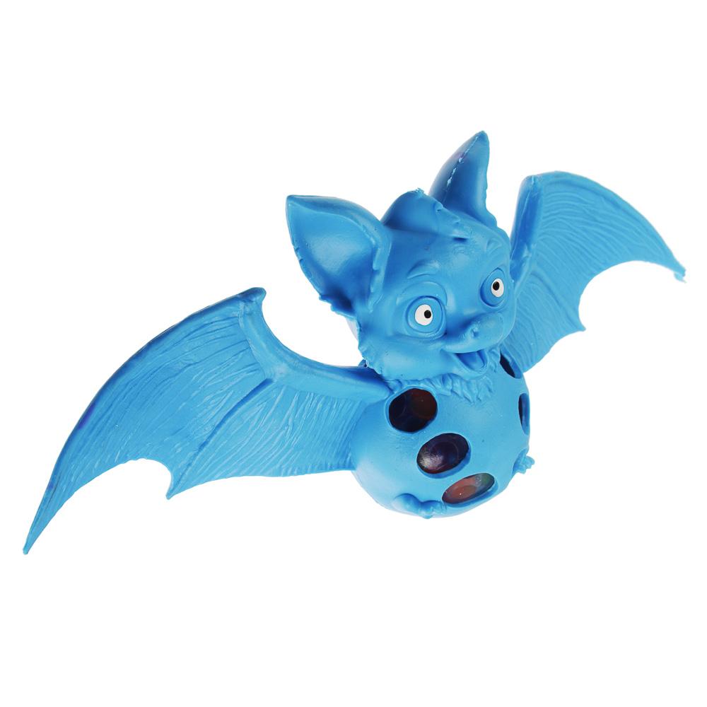 Мялка в виде летучей мыши, резина, 20х9,5х5см, 2-4 дизайна - 2