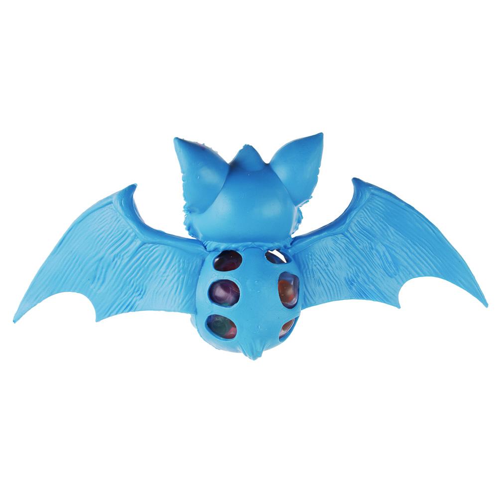 Мялка в виде летучей мыши, резина, 20х9,5х5см, 2-4 дизайна - 3