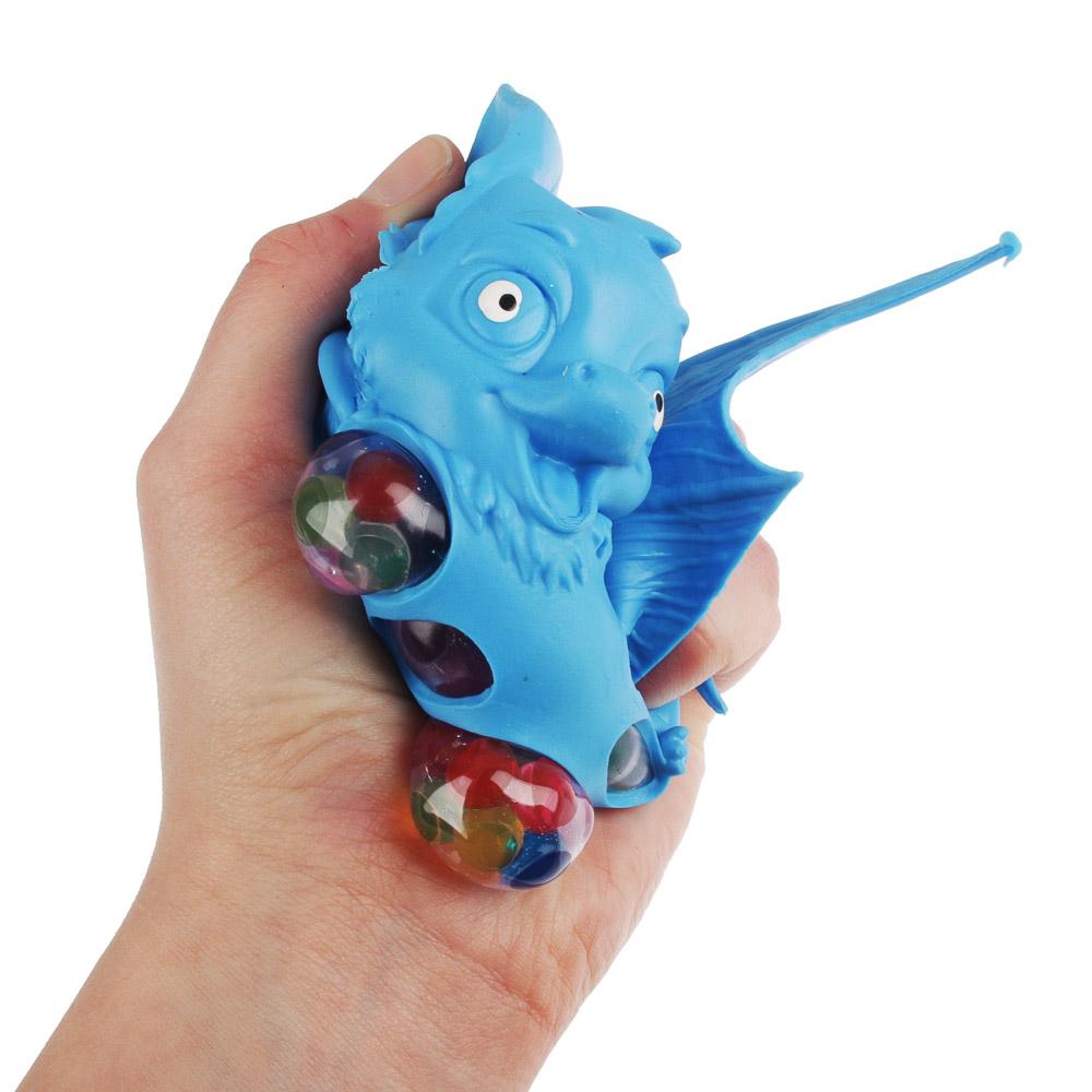 Мялка в виде летучей мыши, резина, 20х9,5х5см, 2-4 дизайна - 4