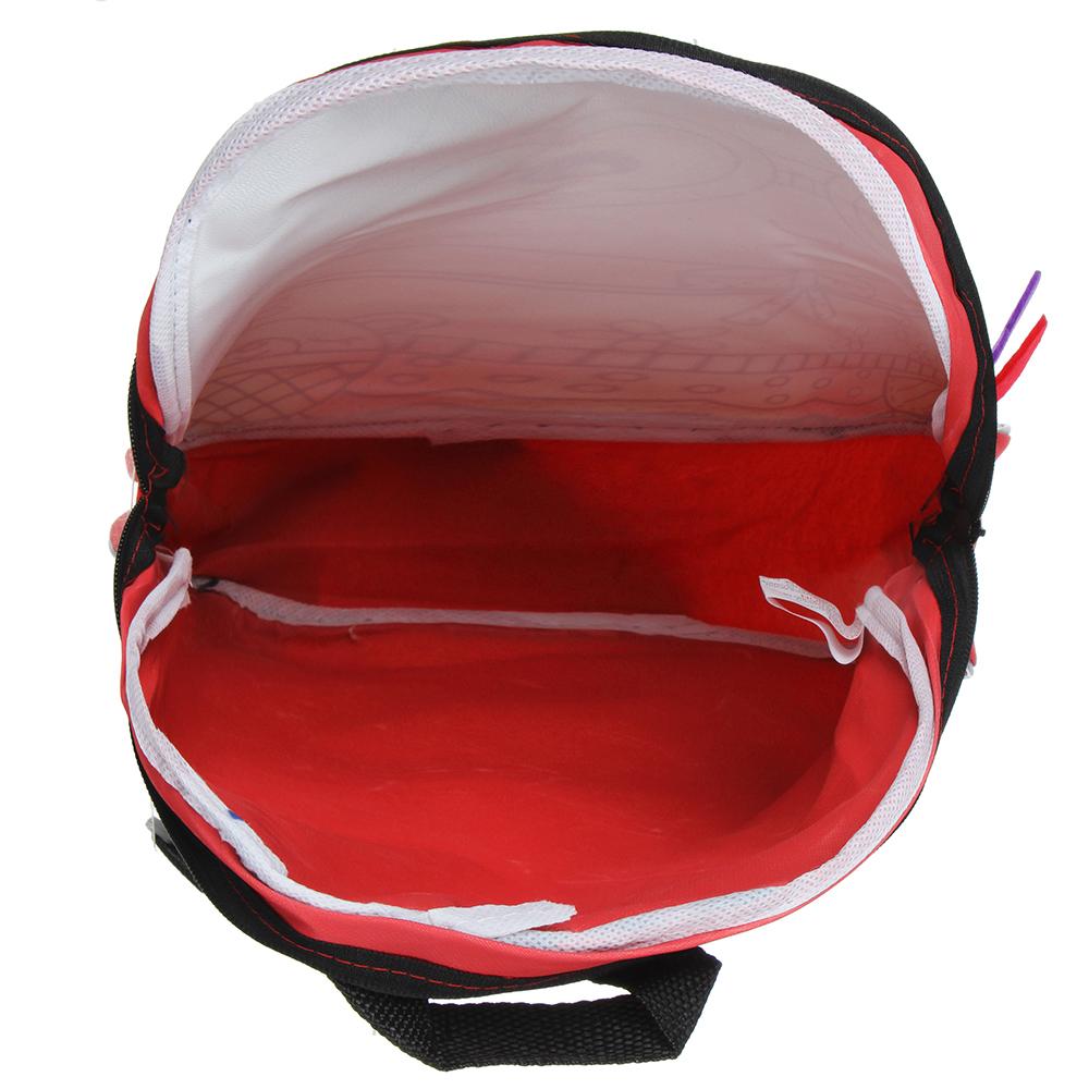 ХОББИХИТ Рюкзак для раскрашивания, 5 фломастеров, полиэстер, пластик, 24х30х9см, 2 дизайна - 5