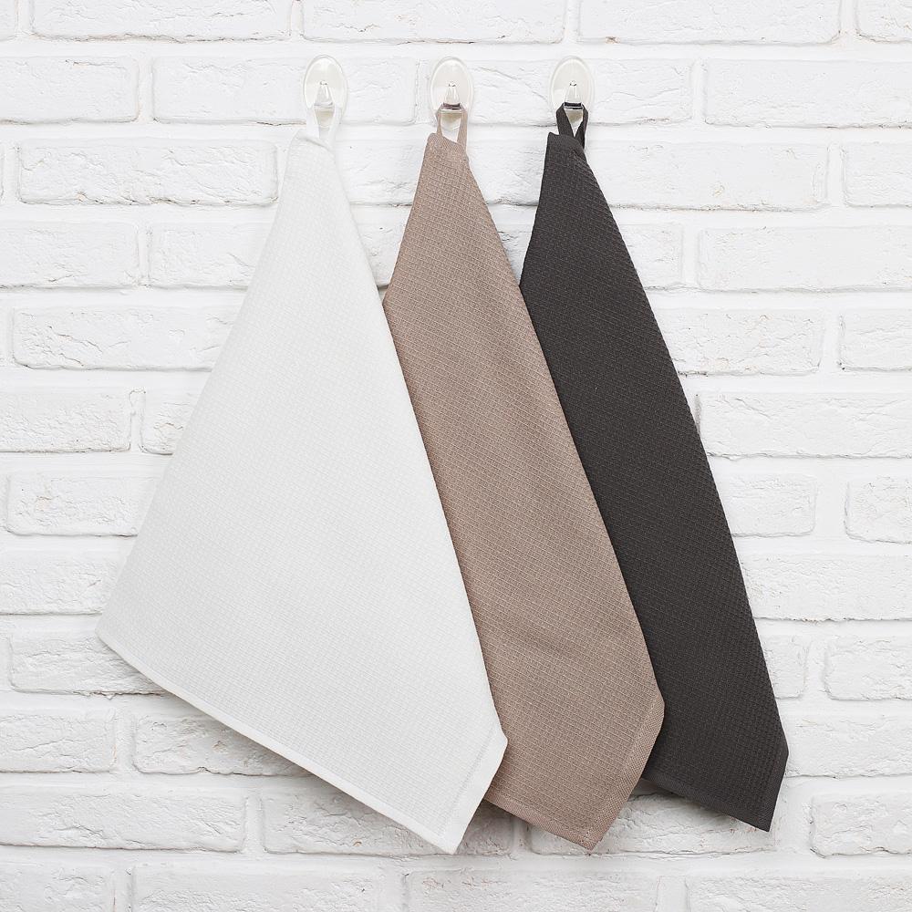 """Кухонное полотенце вафельное PROVANCE """"Гармония"""", 100% хлопок, 40х60 см, 3 цвета - 2"""