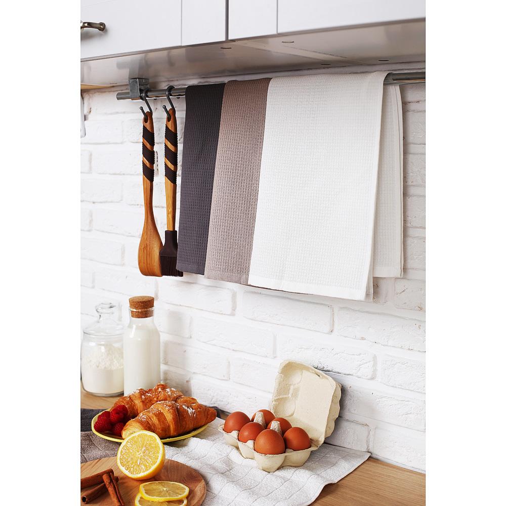"""Кухонное полотенце вафельное PROVANCE """"Гармония"""", 100% хлопок, 40х60 см, 3 цвета - 5"""
