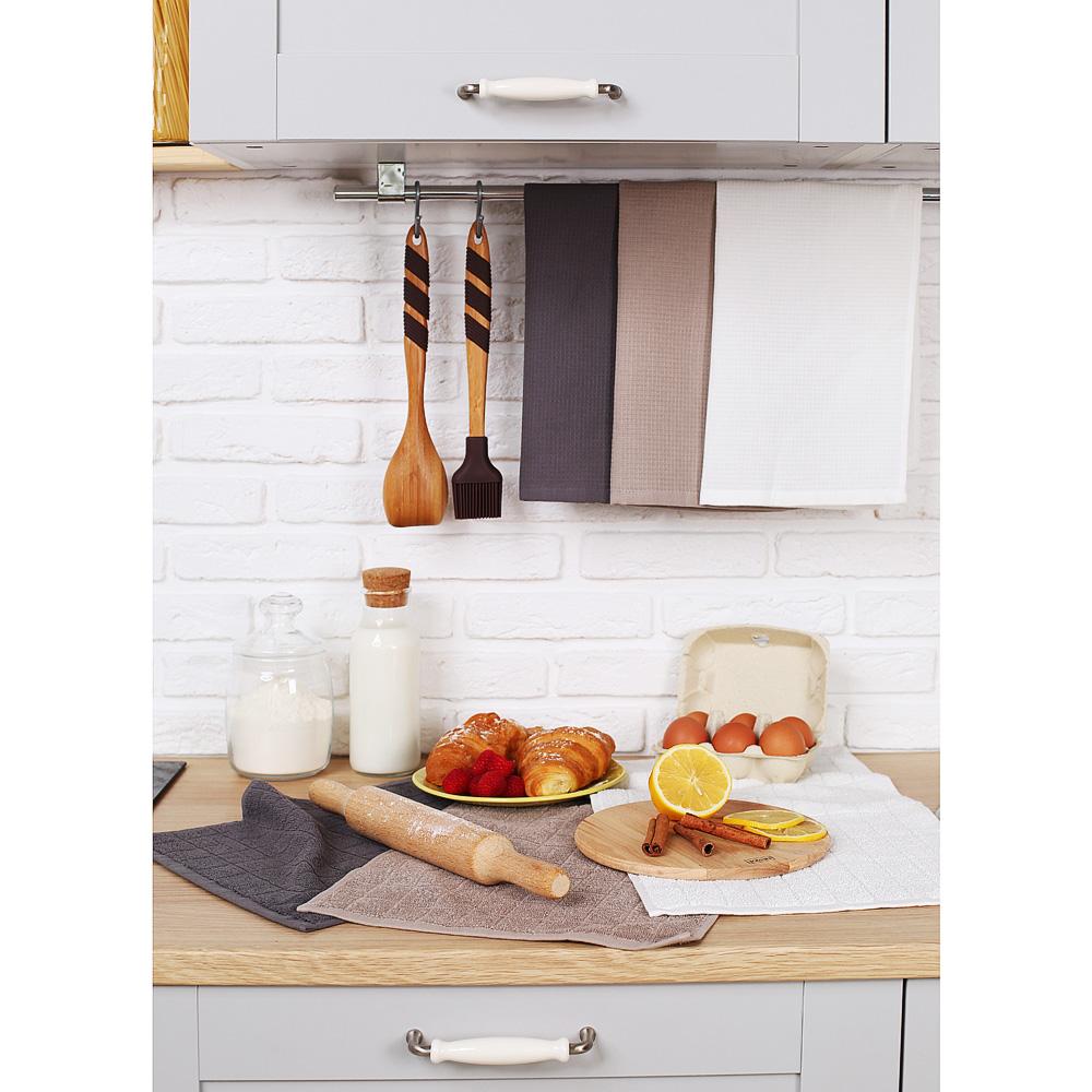 """Кухонное полотенце вафельное PROVANCE """"Гармония"""", 100% хлопок, 40х60 см, 3 цвета - 6"""