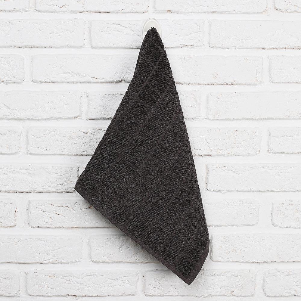 "Кухонное полотенце махровое PROVANCE, 100% хлопок, 30х50см, 380гр/м, ""Гармония"", 3 цвета - 3"
