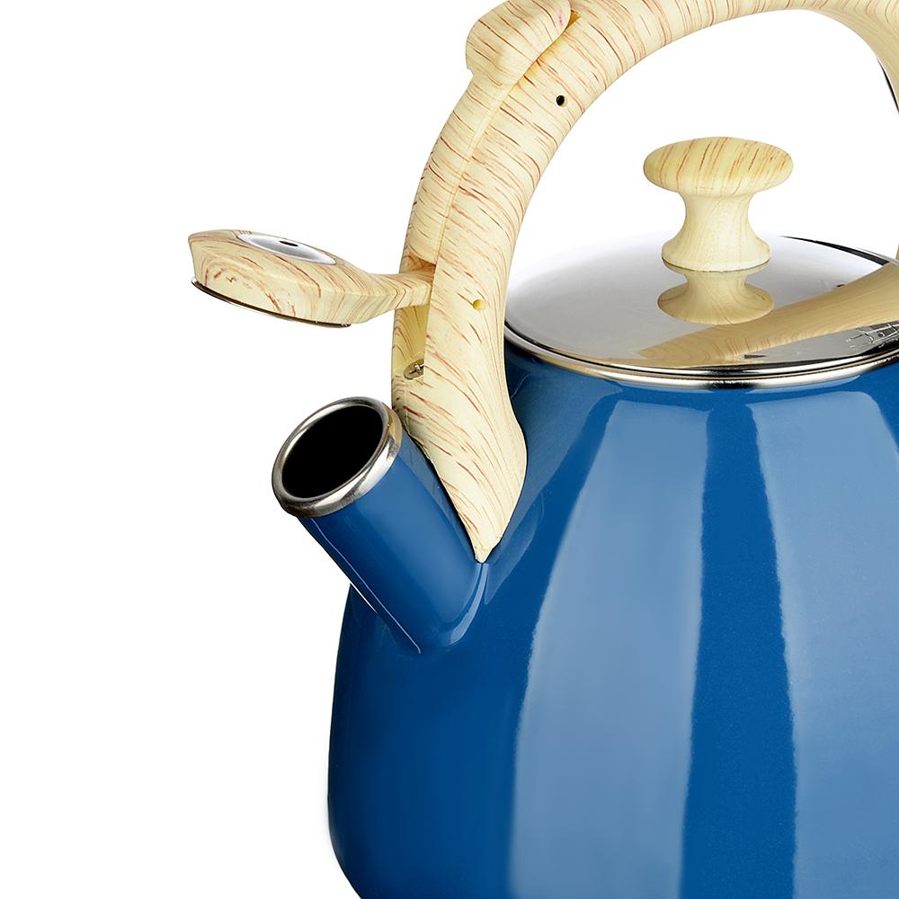Чайник 2,5 л VETTA Глянец, эмалированный, синий, индукция - 2