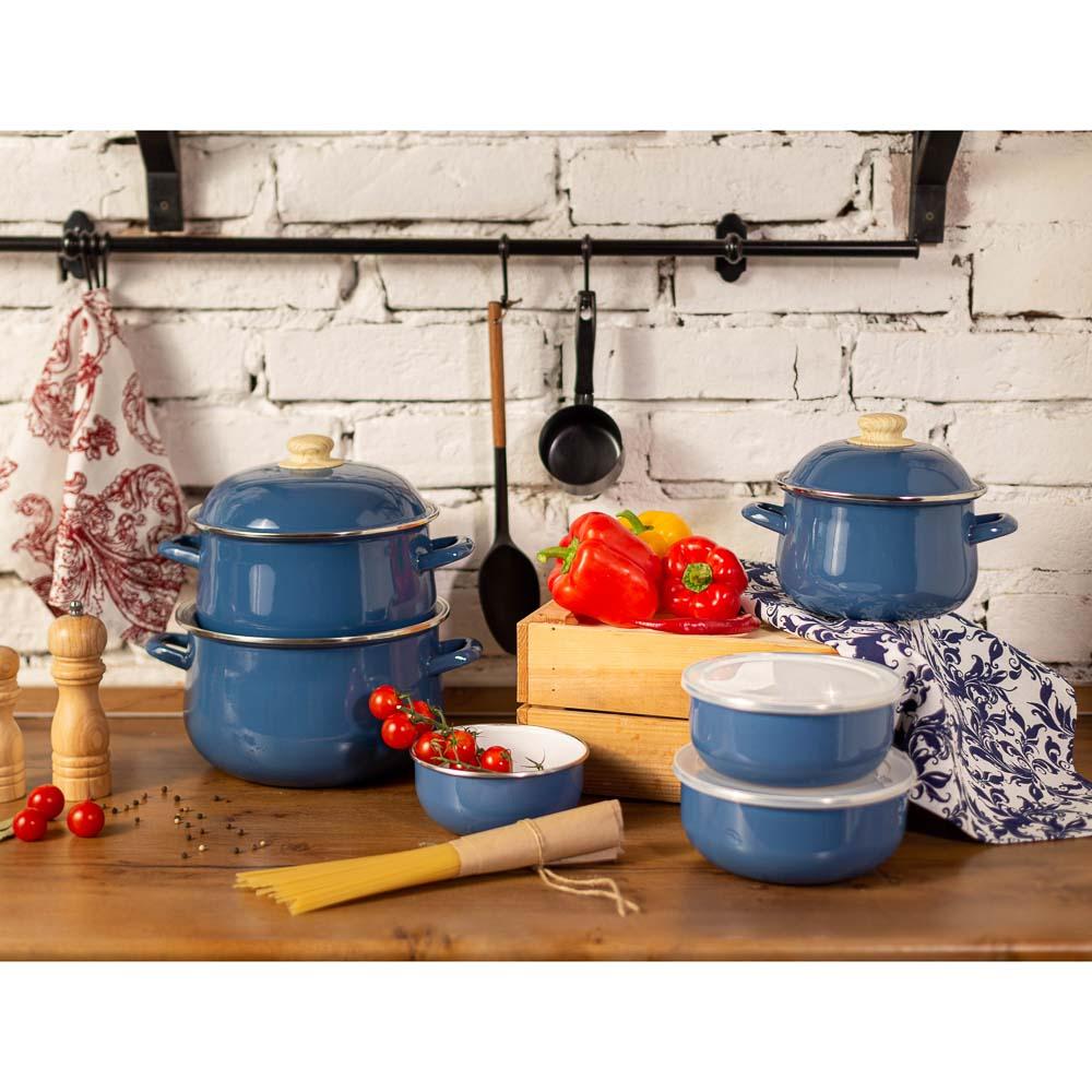 Чайник 2,5 л VETTA Глянец, эмалированный, синий, индукция - 4