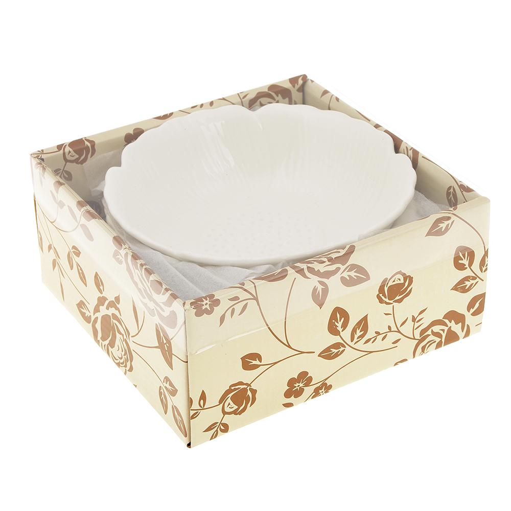 Набор блюд 3 предмета MILLIMI Цветок 15,5х4,5см, костяной фарфор - 4