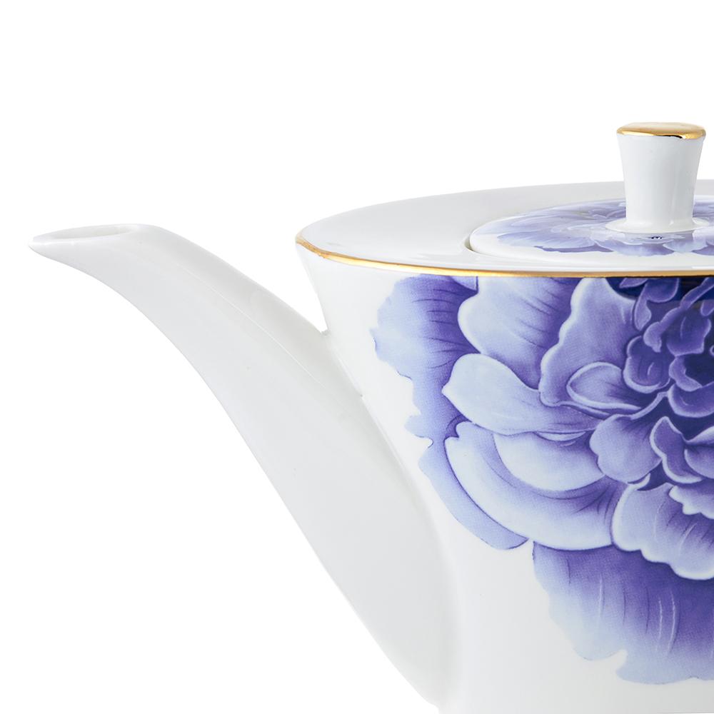Чайник заварочный MILLIMI Виолета 650мл, костяной фарфор - 2