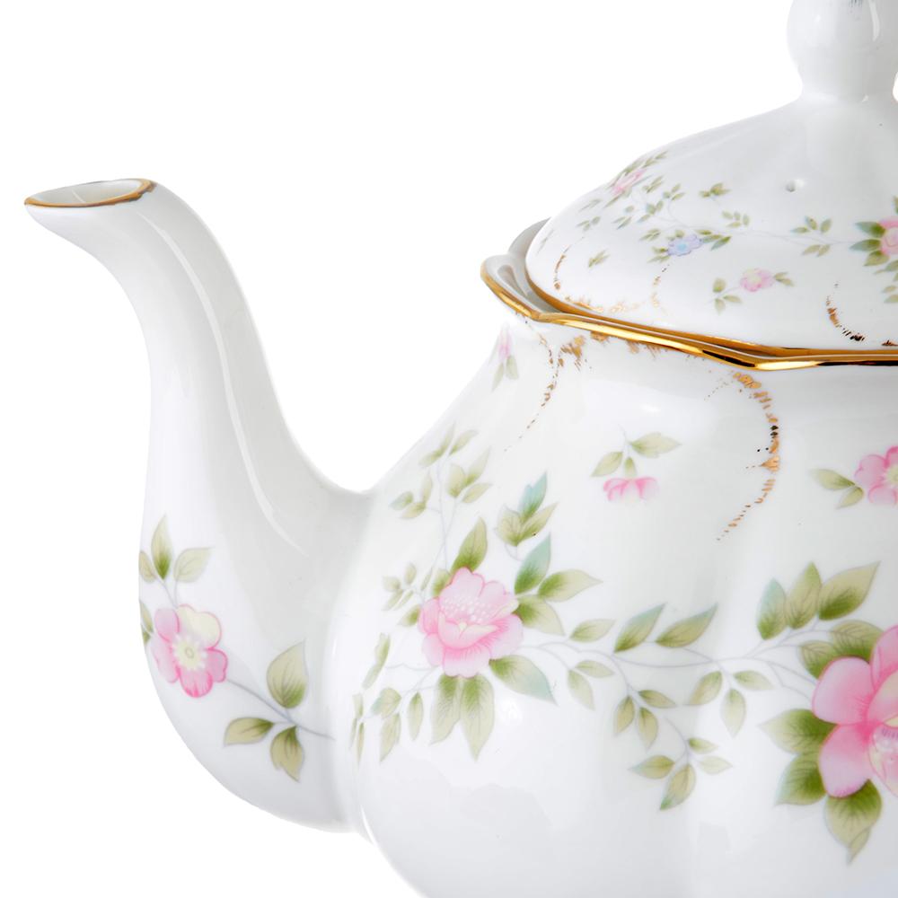 Чайник заварочный MILLIMI Вуаль 1250мл, костяной фарфор - 2