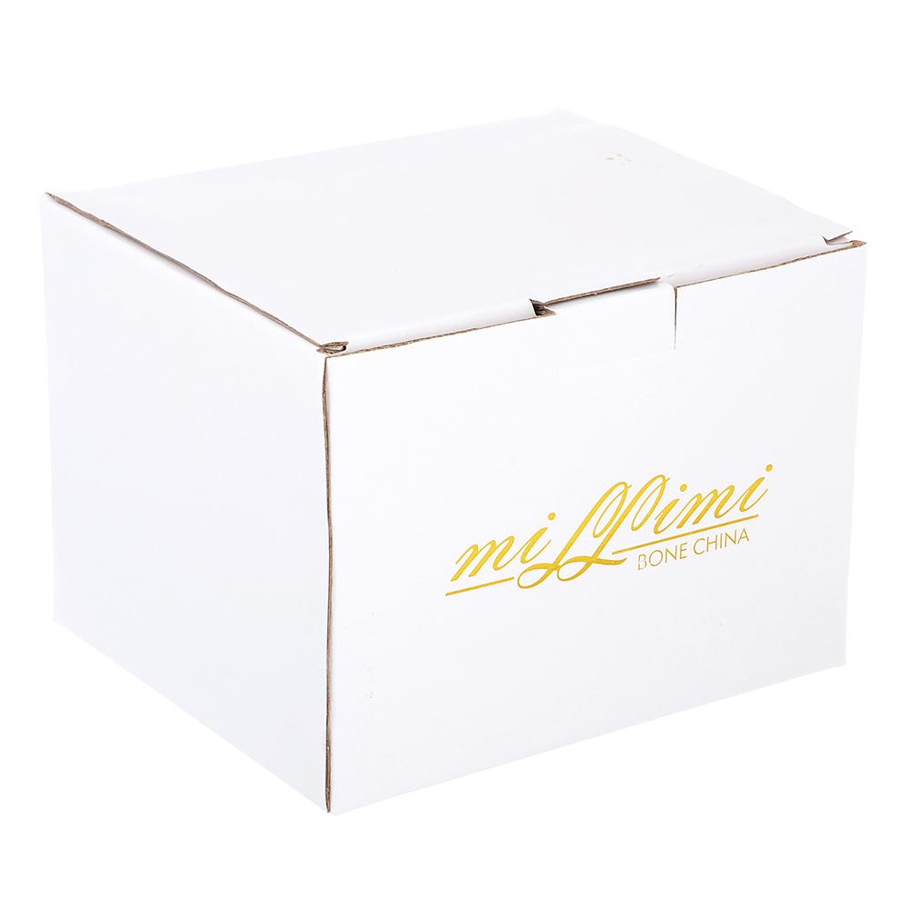 Чайник заварочный MILLIMI Вуаль 1250мл, костяной фарфор - 3